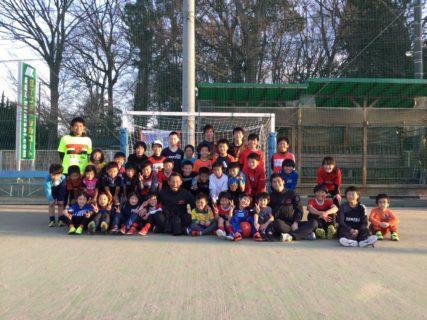 小学生サッカーフェスタ報告1月13日