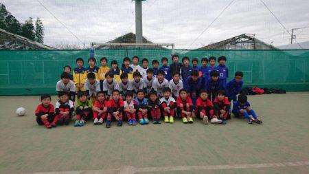 U-9ミニサッカーリーグ開催中