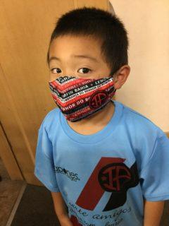 マスクの贈り物~オリジナルマスク~