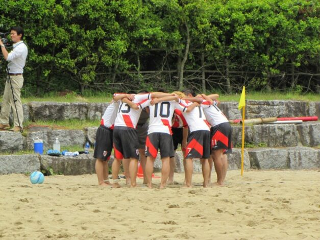全国ビーチサッカー大会 関東予選出場します。