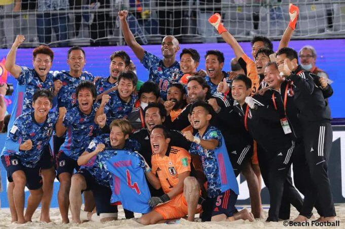 ビーチサッカーW杯 日本代表準優勝