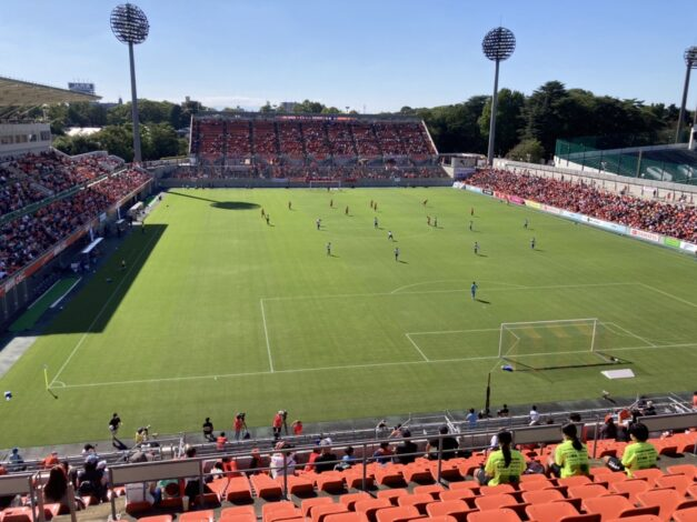 WEリーグ観戦 大宮vs新潟